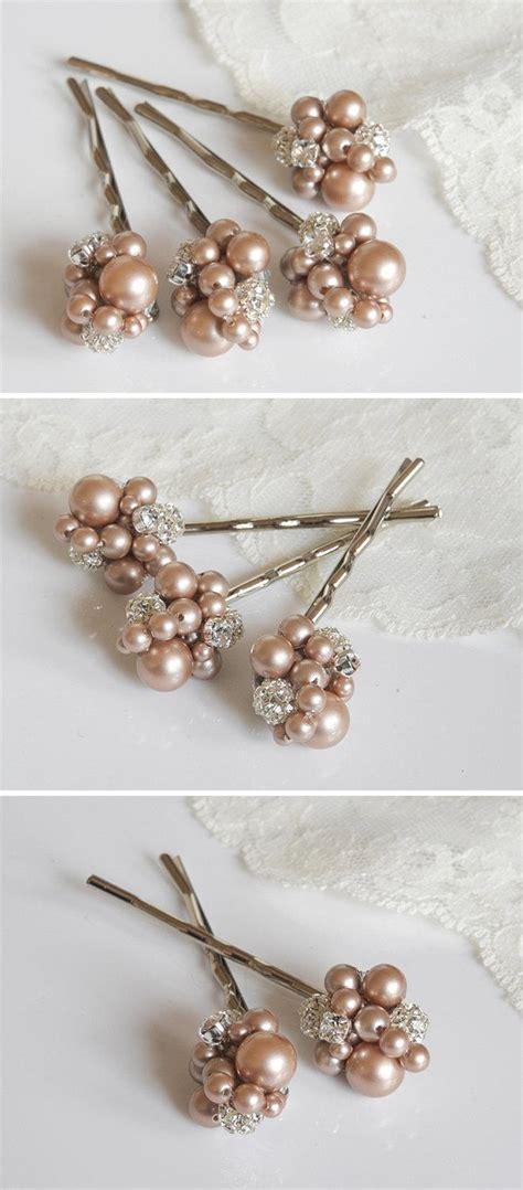 Wedding Hair Accessories Swarovski by Pearl Cluster Bridal Hair Accessories Swarovski
