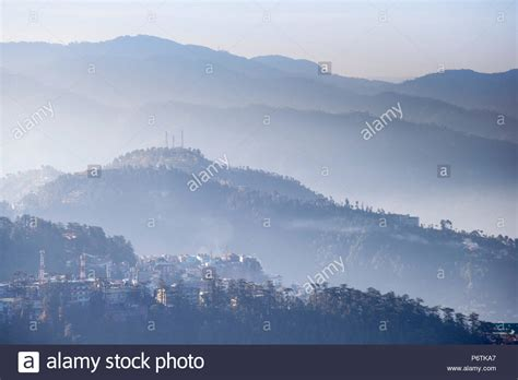 The Terrace Shimla India Asia india himachal pradesh shimla simla stock photos india