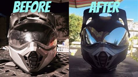 Helm Snail Cross Visor How To Paint A Helmet With Spray Paint Painting Supermoto