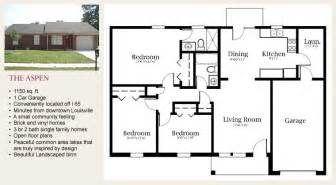 Family Home Floor Plans by One Story Home Plans Single Family House Plans 1 Floor