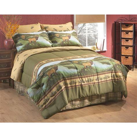 complete bed set elk complete bed set 152700 comforters at sportsman s guide