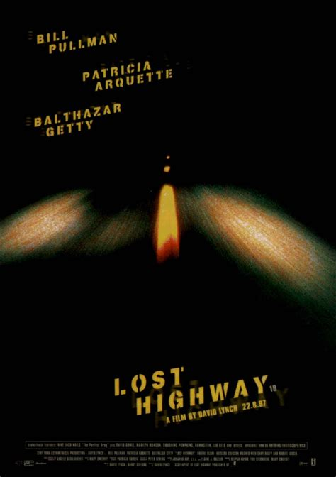 Lost Highway lost highway promotional material