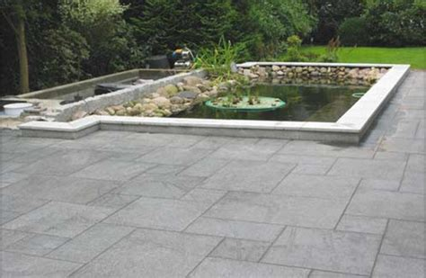 granitplatten garten teicheinfassung mit granitplatten white passend