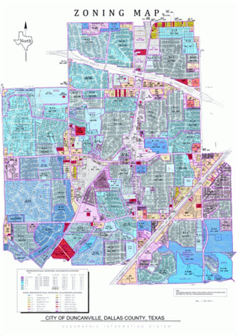 texas zoning map planning zoning city of duncanville texas usa