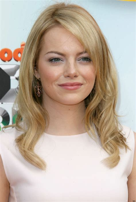 emma stone blonde emma stone from red to blonde