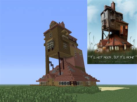 what house am i in harry potter the burrow harry potter minecraft project