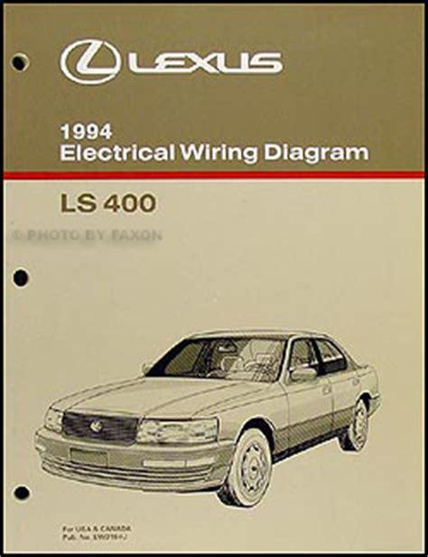 auto repair manual online 1994 lexus sc windshield wipe control 1994 lexus es gs sc and ls features manual original