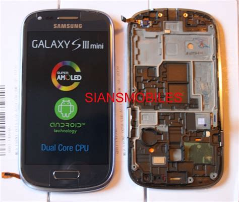 008808 Lcd Samsung I8190 S3 Mini Blue Org samsung i8190 galaxy s3 mini lcd touch screen display