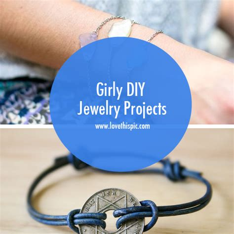 diy projects girly girly diy jewelry projects