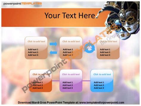 mardi gras powerpoint template templatesforpowerpoint com