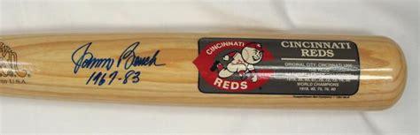 johnny bench autograph bigtimebats com johnny bench autographed bat