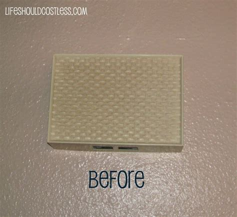 Door Bell Covers by What A Paint Can Do Doorbell Cover Should