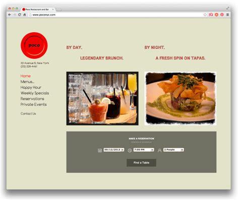 design milk similar sites 10 well designed restaurant websites powered by
