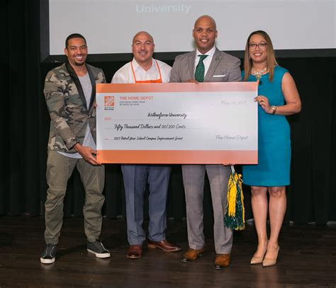 the home depot announces its 2017 retool your school grant