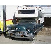 1956 Cadillac Camper/RV Or Pickup  Happy Camper Pinterest