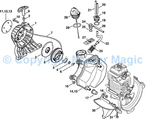 stihl 066 parts diagram stihl 029 chainsaw parts diagram car interior design