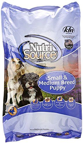 Nutri Source Rice 18 Lbs nutrisource food small breed puppy chicken
