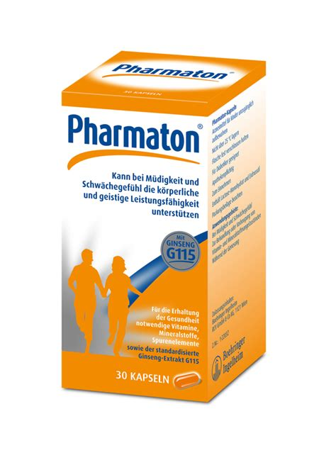 Pharmaton Ginseng pharmaton multivitamin kapseln ginseng extrakt g115
