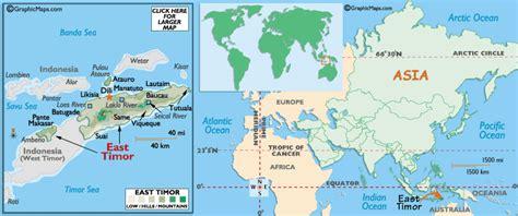 east timor map asia maps of east timor timor leste map library maps of