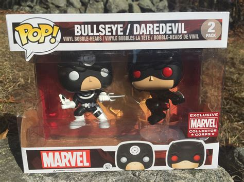 Marvel Collector Corps Showdowns Daredevil Series funko marvel showdowns box unboxing review