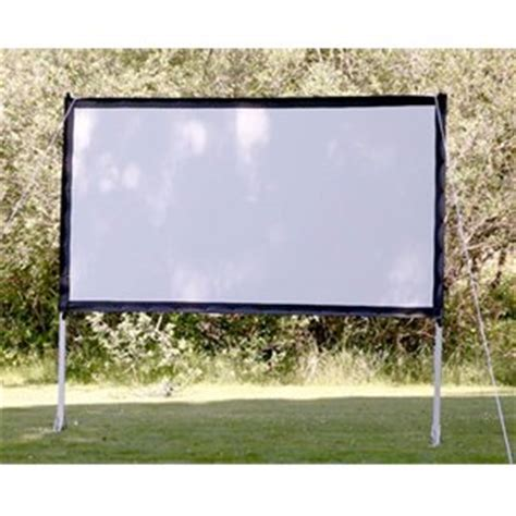 backyard projector screen amazon com projectoscreen113 portable outdoor movie