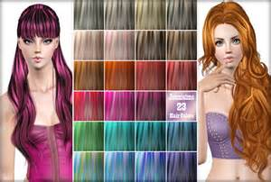 hair color to for sims 3 jenni sims 23 hair color palet vol 3 by jennisims sims 3