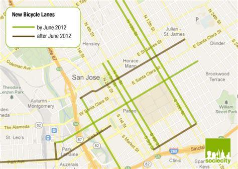 san jose bike map san jose bike map 28 images gps n o t e 1 9 c o m san