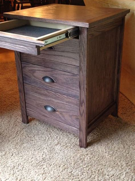 How To Build A Nightstand With A Secret Compartment stand with locking secret drawer