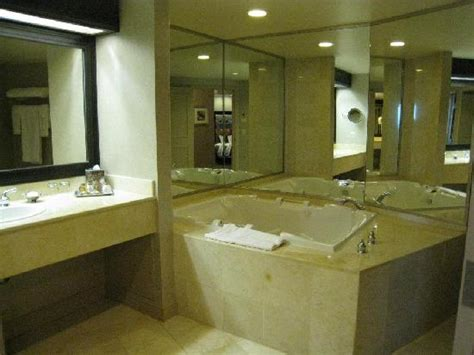 las vegas hotel with tub in room one of the bathrooms jetted tub picture of treasure island ti hotel casino las vegas