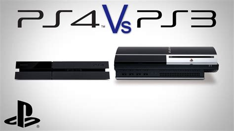 ps3 ps4 ps4 and ps3 console comparison how big is playstation 4