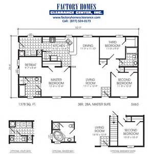 Wardcraft Homes Floor Plans 20x40 Double Wide Floorplan Joy Studio Design Gallery