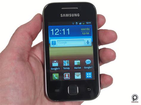 samsung galaxy y fiatals 225 g bolonds 225 g mobilarena okostelefon teszt