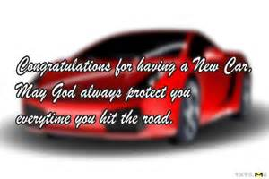 new car wishes sms congratulations wishes for new car quotes messages