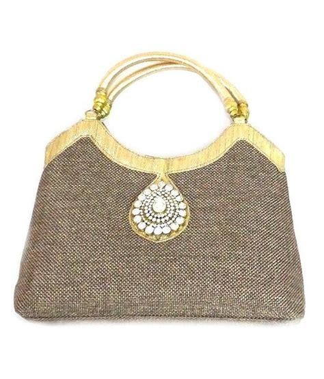 Handmade Jute Bags - buy handmade brown jute bag at best prices in india