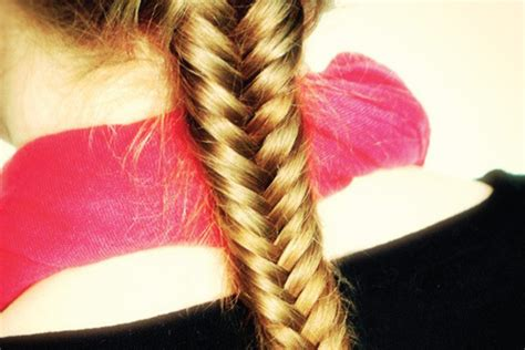 easy fishtail braid   clean  everyday