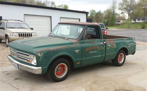 1967 Trucks For Sale by 1967 Chevy C10 Lowered Bed Swb Fleetside Patina Shop