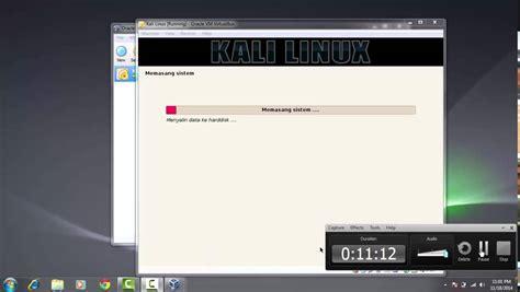 tutorial menggunakan nmap di linux tutorial instal kali linux menggunakan virtual box youtube