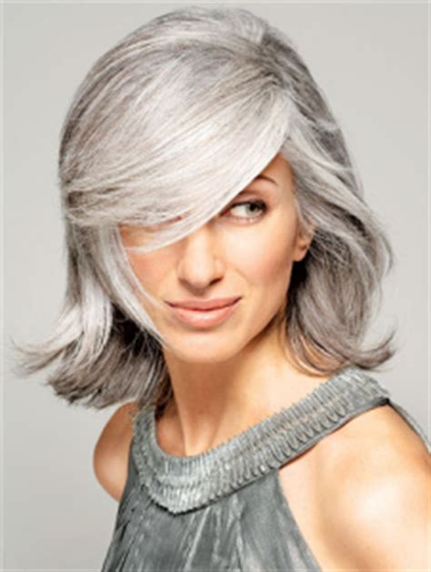 gray mid lenth hair style medium length gray hairstyles short hairstyle 2013