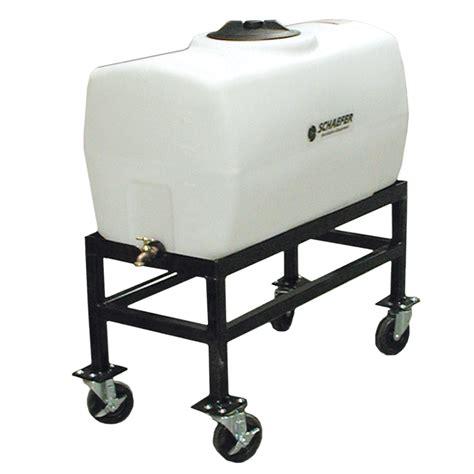 portable misting fans with tank versafiller vfr50 50 gallon portable reservoir for