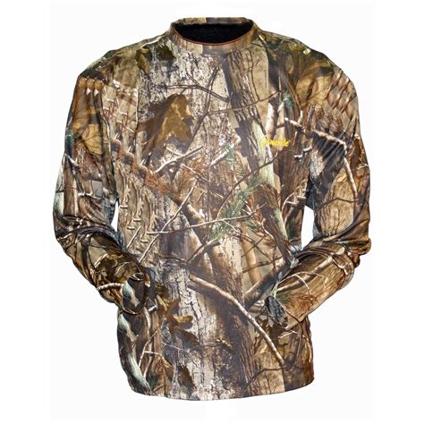 Camouflage Sleeve Shirt s gamehide elimitick sleeve camo tech shirt