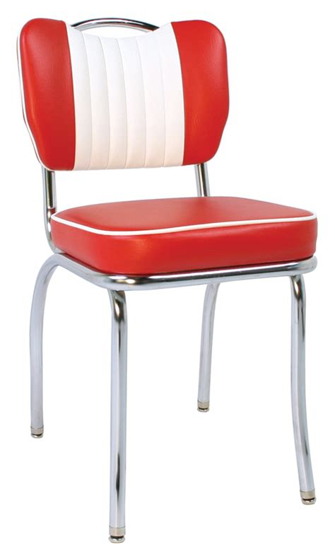 50s and chairs 50 s classic malibu back millennium seating