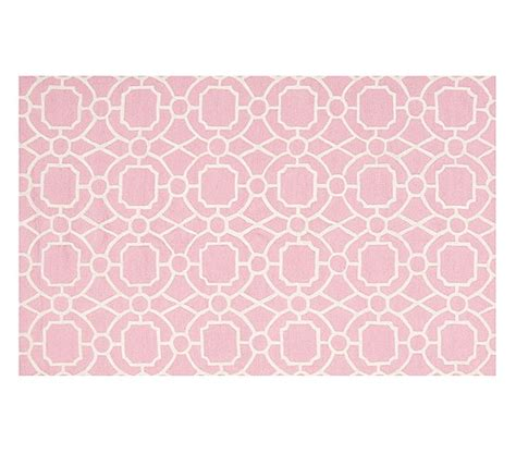 pink trellis rug preppy trellis rug pink pottery barn