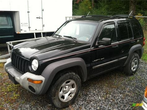 black jeep liberty 2002 2002 black jeep liberty sport 4x4 71337409 gtcarlot com