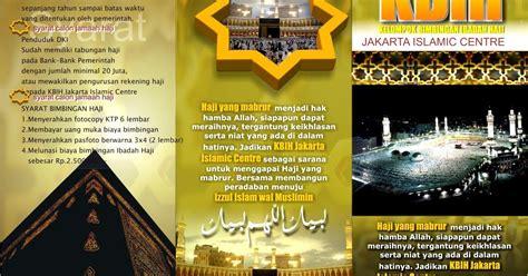 harga desain leaflet desain brosur haji by quot desain gratis quot desain spanduk