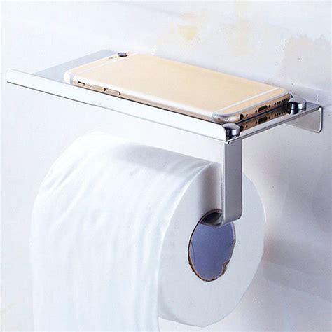bathroom towel and toilet paper holders bathroom toilet paper holder towel with shelf mobile phone