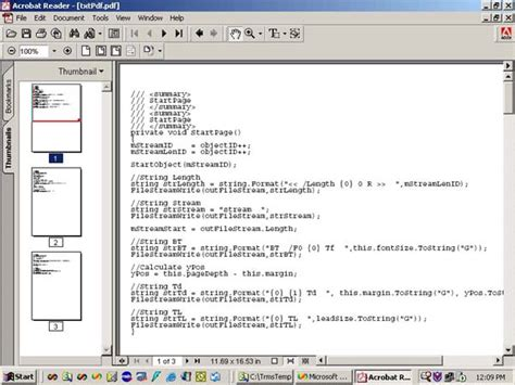 format file pdf convert a text file to a pdf file codeproject