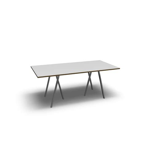 table stands loop stand table 180 white design and decorate your room in 3d
