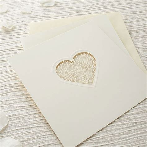 Laser Cut Wedding Invitation Kits