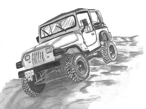 jeep drawing cartoon jeep drawings www imgkid com the image kid has it