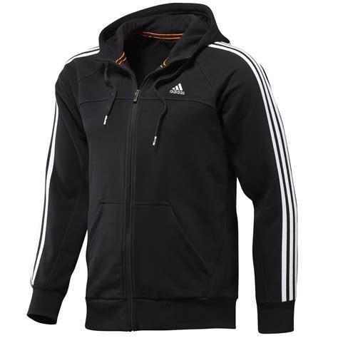 Sweater Adidashoodie adidas performance mens zip 3 stripe hoodie sweater hoody top new